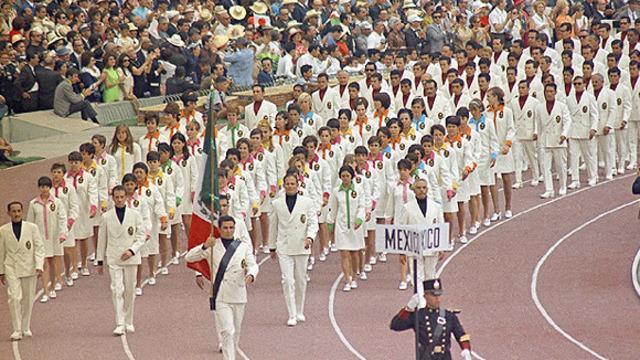 Inauguración de los Juegos Olímpicos México '68