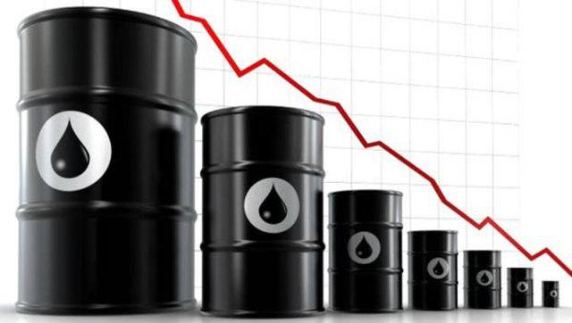 Desplome de los precios del petróleo