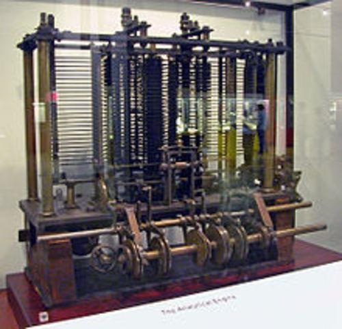 Maquina diferencial Charles Babbage