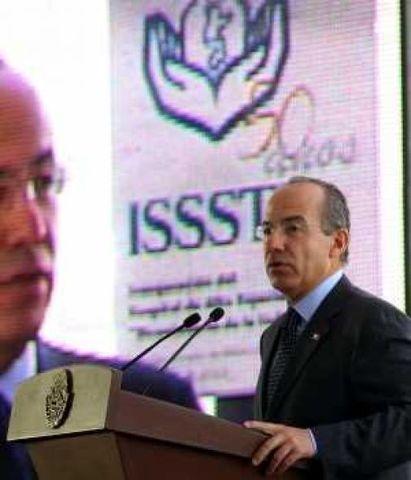 Se aplica la Reforma laboral en el ISSSTE.