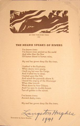 """The Negro Speaks of Rivers"""