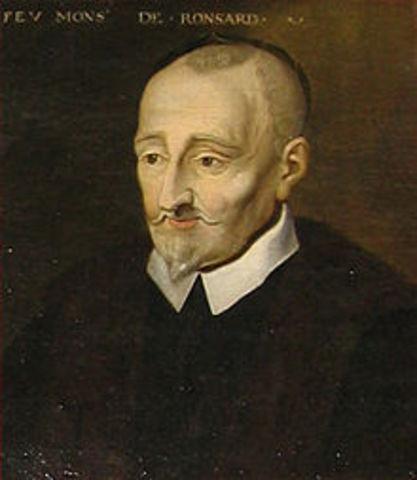 HISTOIRE LITTERAIRE : le poète Ronsard