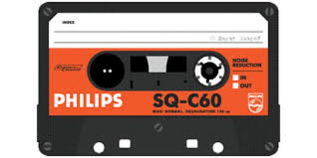 Invention de la Cassette Audio.