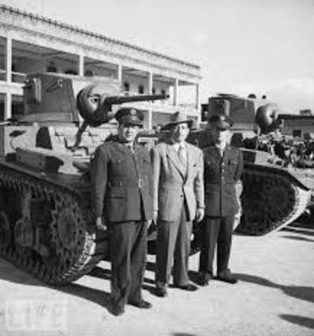 FIN DE LA REVOLUCION DE 1944