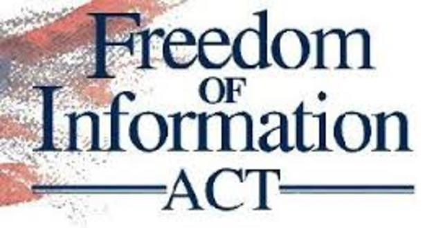 EE.UU. Freedom of Information Act (FOIA)
