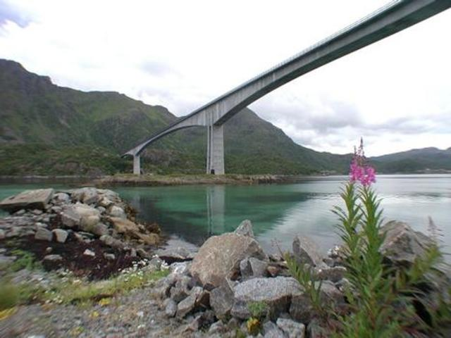 Pont Raftsundet louis pierre