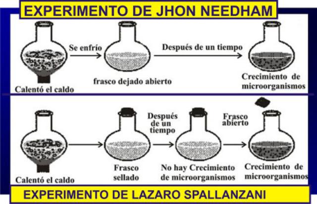 El aire transporta germenes al medio de transporte- Lázaro Spallanzani