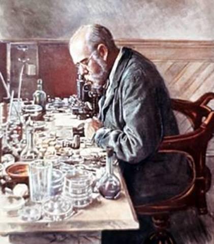 Robert Koch demuestra que el antrax es causado por (bacillus anthracis)