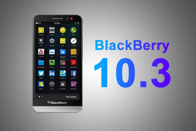 BlackBerry OS 10.3