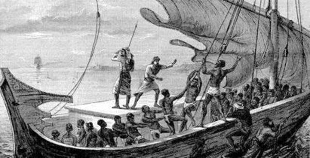 First Slave Voyage from Africa to the Americas