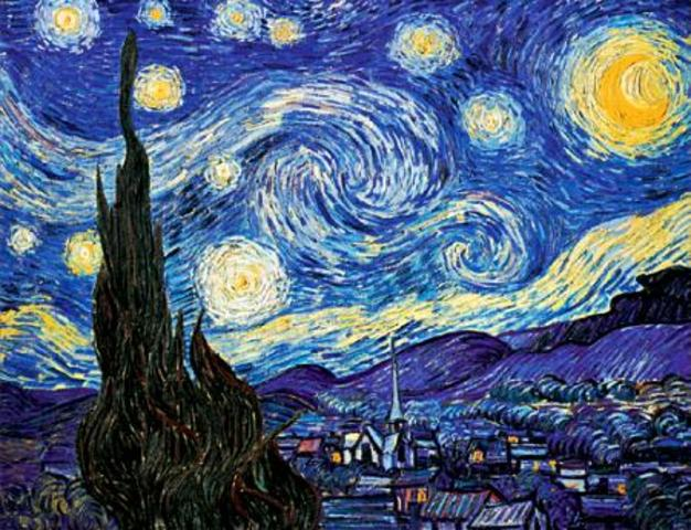 Completion of Starry Night