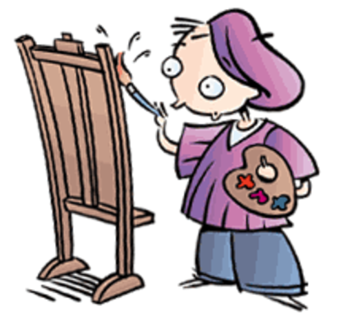 Van Gogh attempts his first painting