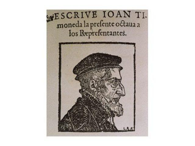 Joan Ferrandis d'Herèdia La vesita--------teatre------renaixement