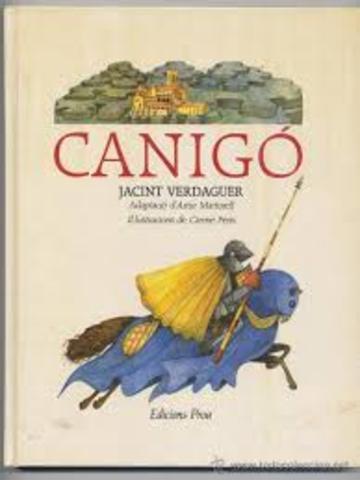 Jacint Verdaguer: Canigó----Poesia-----Romanticisme