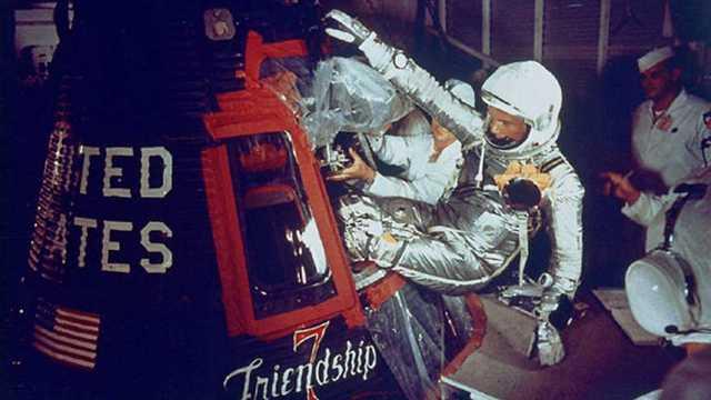 Primer viaje con astronauta