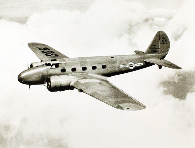 1937 AVIONES TIPO BIMOTOR, COMO EL BOEING 247