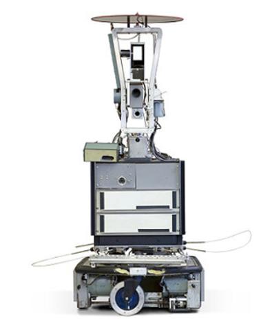 Första rörliga roboten som kan ''se''.