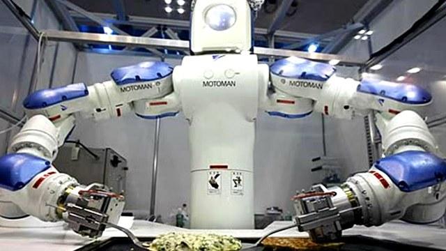 Roboten som kunde göra allt.