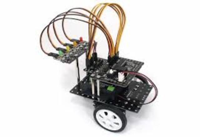 Robotar som drivs av elektrisk motorer