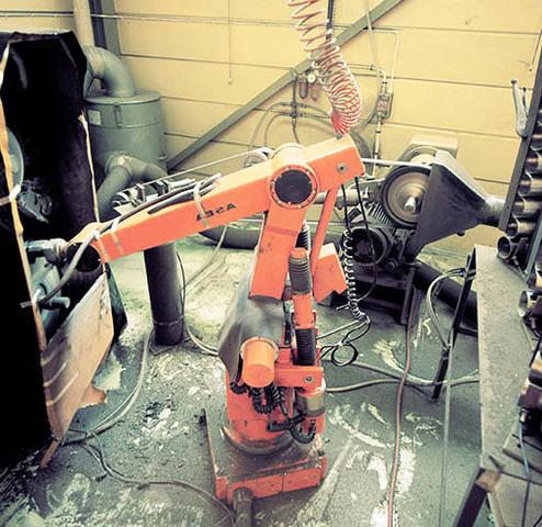 Första industri roboten