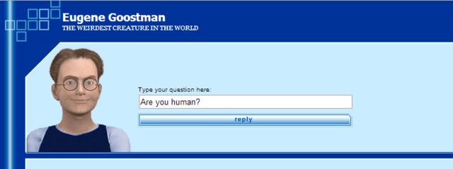 Världens första Chatbot.