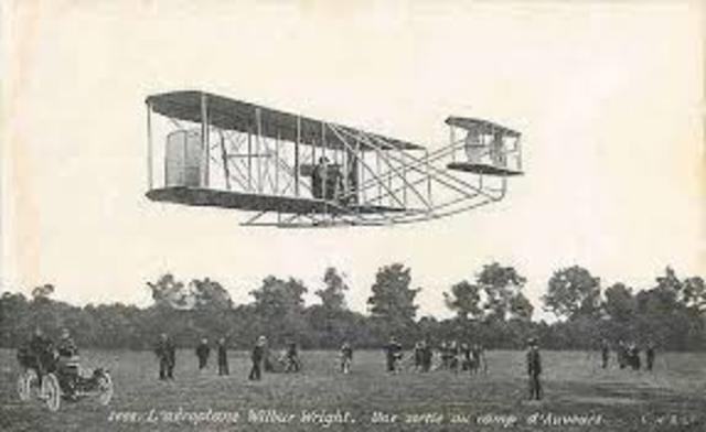 Primer vuelo de un avion cargado