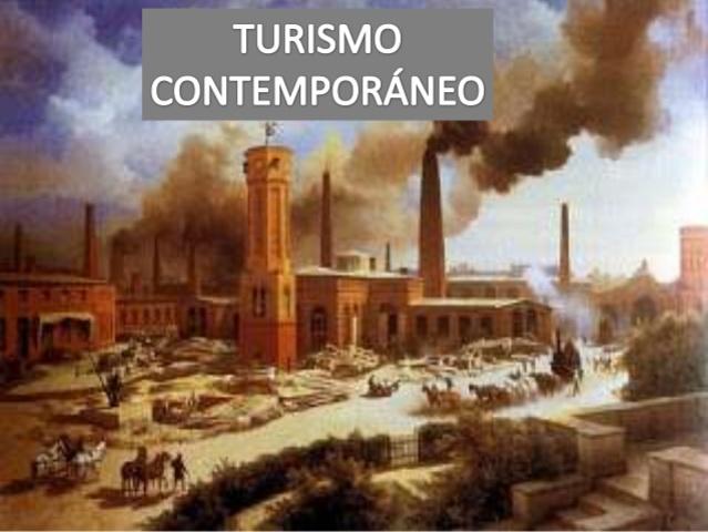 El turismo en la edad contemporanea
