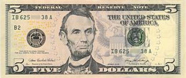 Lincoln imprime su propio dinero