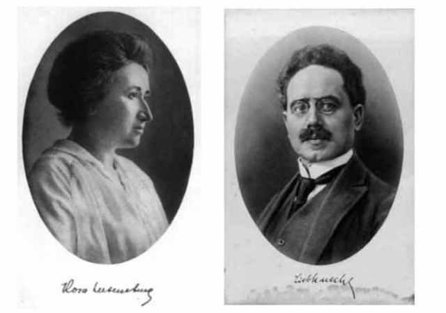 En Enero,Karl Liebknecht y Rosa Luxemburgo mueren en su intento de liderar otro golpe de Estado Comunista ,Rothschild financia esta vez en Berlín ,Alemania.