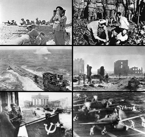 El 1 de septiembre la segunda guerra mundial comienza con la invasión Alemana a polonia.
