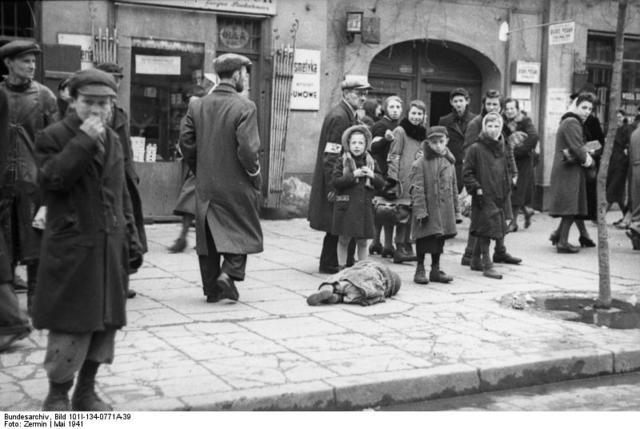 Nazis created a Jewish ghetto