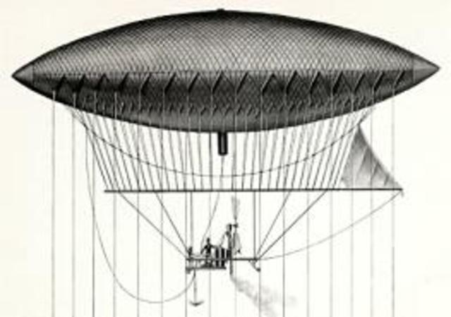 Invento del dirigible