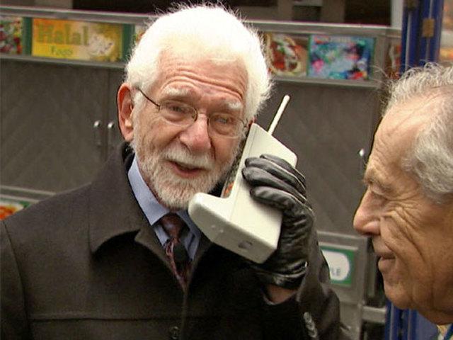 La primer llamada a celular