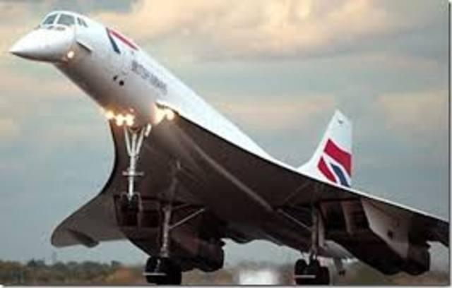 Avion Supersonico CONCORDE