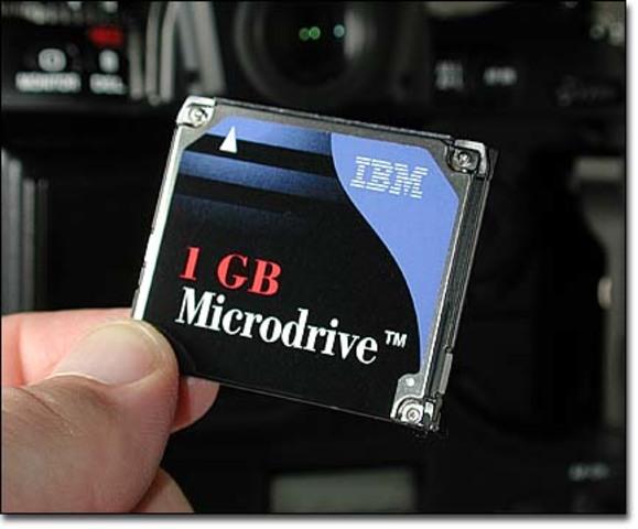 IBM Microdrive