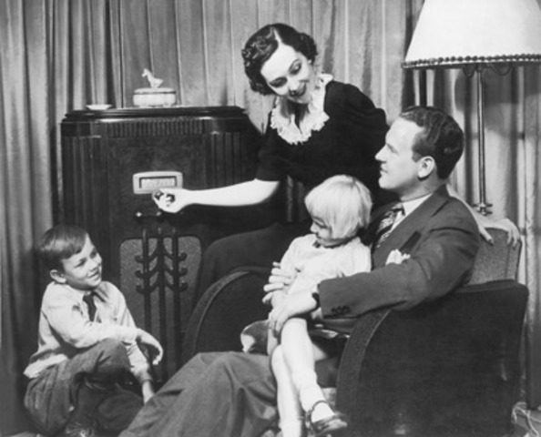 First Radio Broadcast with Music in the US.