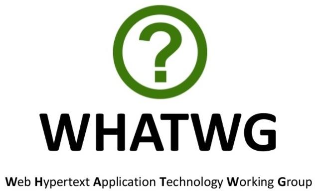 HTML5, se unió al grupo de trabajo del WHATWG para unificar el proyecto.