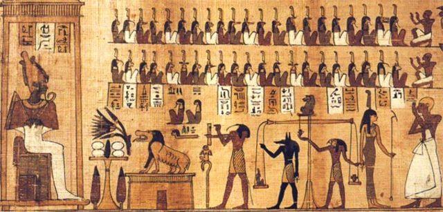 2600. a.C Egipcios.