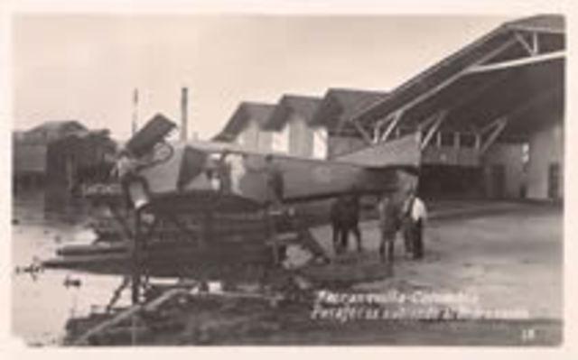 Primer vuelo claramente documentado en Colombia