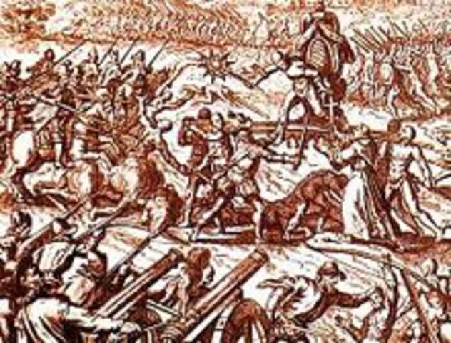 Francisco Pizzaro conquers Cajamarca