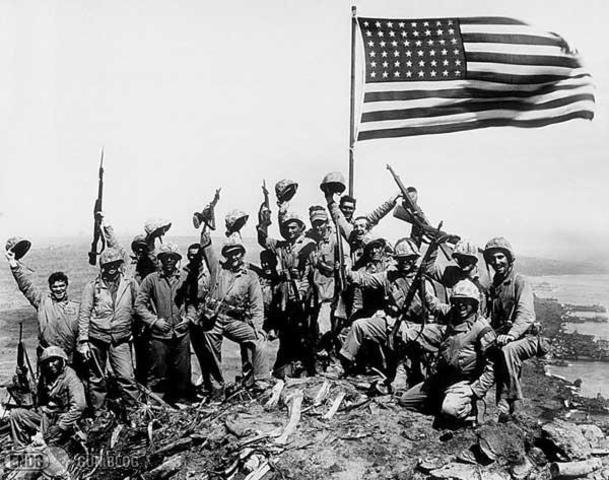 Battle of Iwo Jima and Okinawa