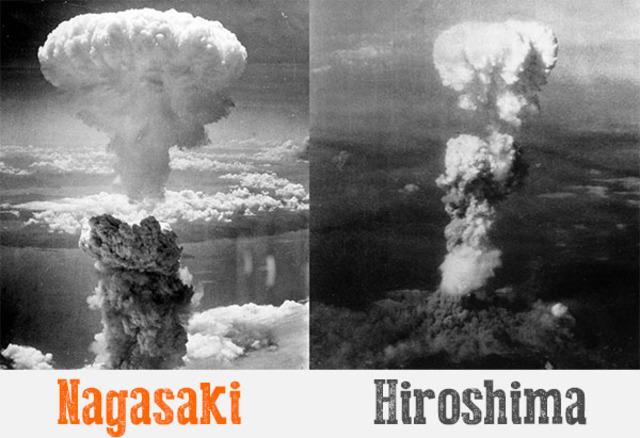 US Bombs Hiroshima and Nagasaki