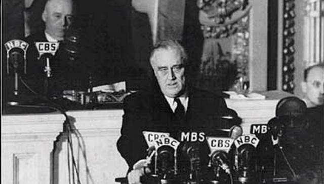 FDR Pearl Harbor Speech