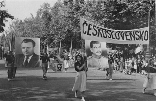 Kupp i Tsjekkoslovakia i 1948