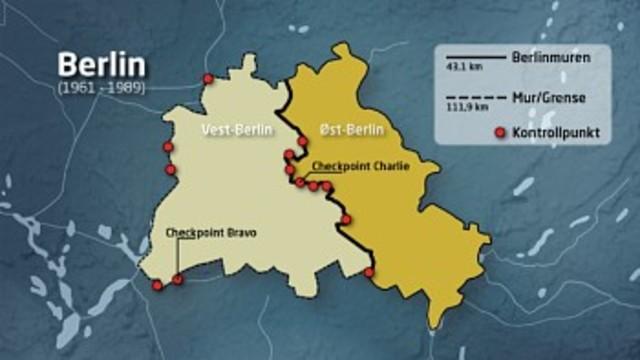 Opprettelsen av Berlin muren