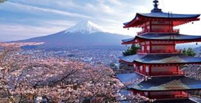 Fui a Japan en dos mil tres.