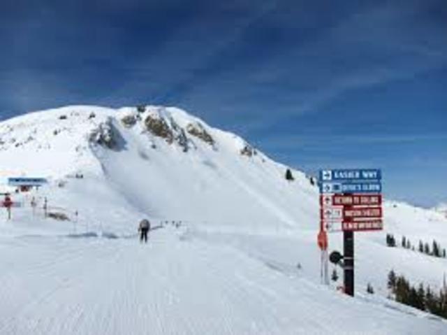 Esquié en Utah por primera vez en dos mil cuatro.