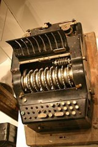 One of the first computers