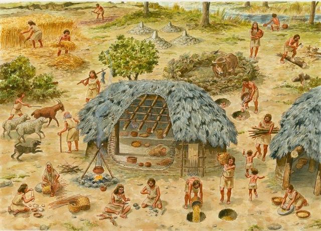 3500 a.C Educaión Sedentaria, Edad Antigua .