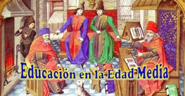476 d.C. Siglo V Edad Media de la Educación